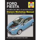Haynes Workshop Manual Ford Fiesta Petrol and Diesel (Sep 08-11) 58 to 11 Reg
